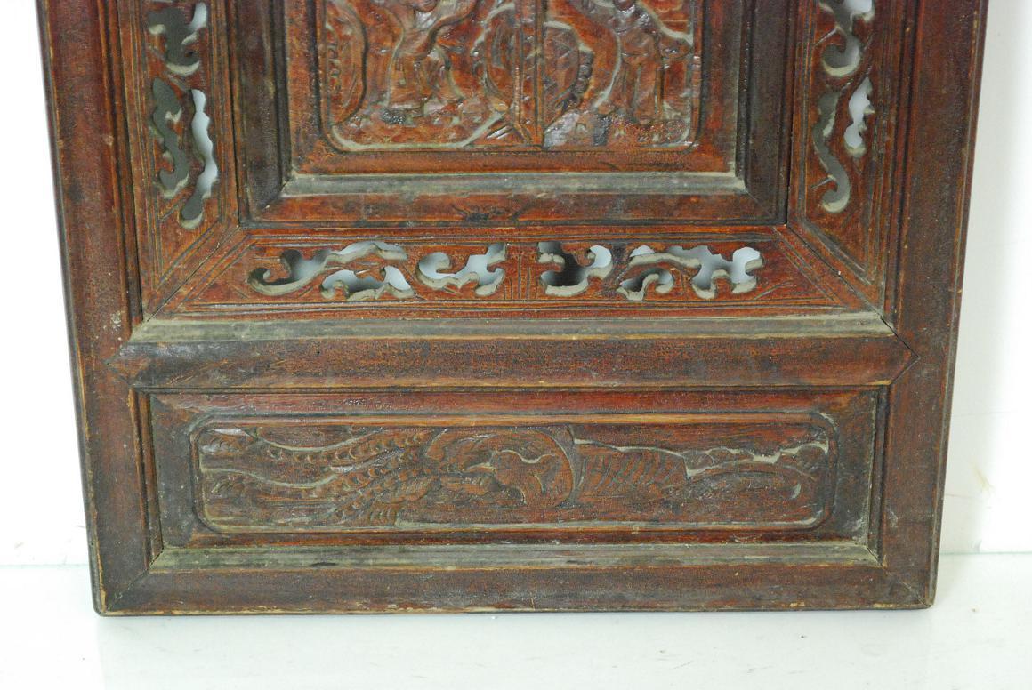 Holz skulptur relief tafel wandtafel wandrelief reich Antik deko shop