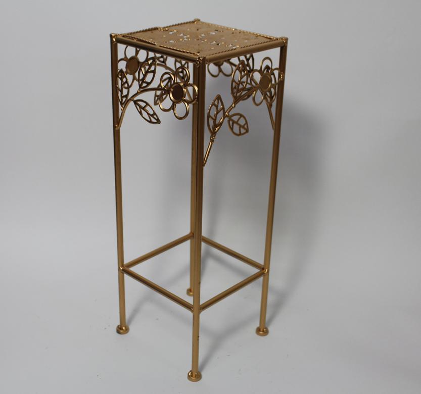 50 cm garten balkon blumenst nder beistelltisch metall. Black Bedroom Furniture Sets. Home Design Ideas