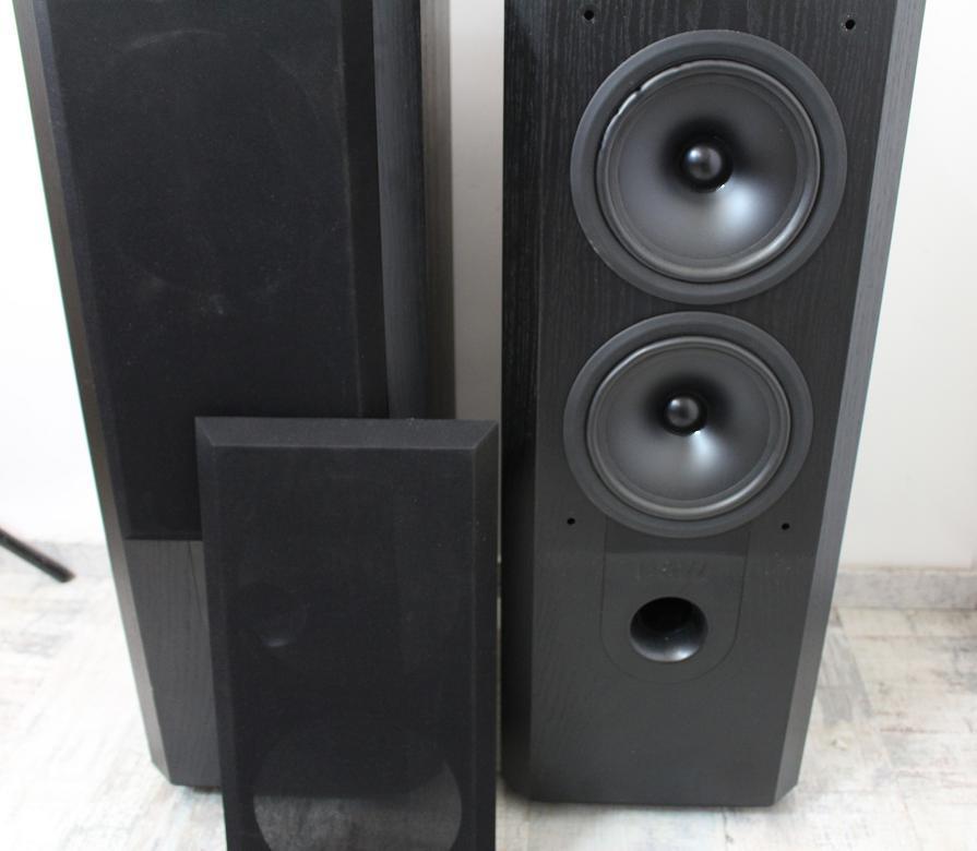 2 x lautsprecher b w 802 series 3n mit schwarzem. Black Bedroom Furniture Sets. Home Design Ideas